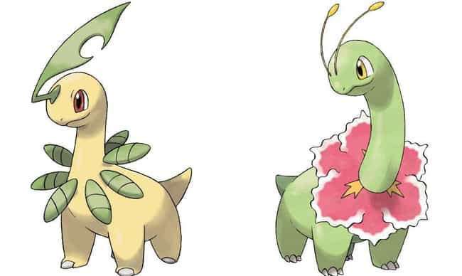 Bayleef is listed (or ranked) 3 on the list 13 Pokémon Whose Middle Evolutions Are Cooler Than Their Final Forms