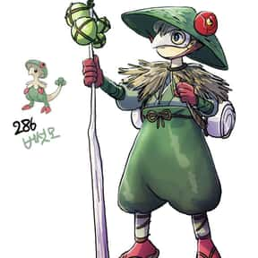 Breloom is listed (or ranked) 19 on the list The Best Fighting Pokemon of All Time