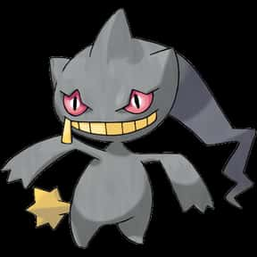 Banette is listed (or ranked) 7 on the list The Best Ghost Pokemon of All Time
