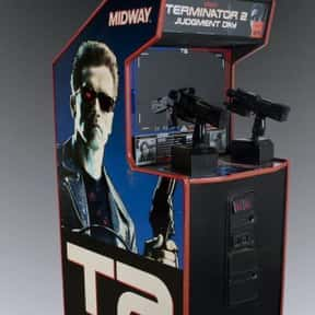 T2: Terminator 2: Judgement Da is listed (or ranked) 10 on the list The Best '90s Arcade Games