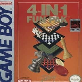 4-in-1 Fun Pak is listed (or ranked) 1 on the list Game Boy Video Games: List of Game Boy Console Games