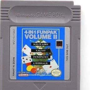 4-in-1 Funpak Vol. II is listed (or ranked) 2 on the list Game Boy Video Games: List of Game Boy Console Games