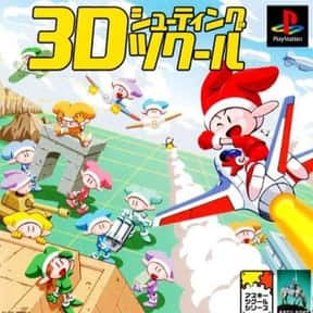 3D Shooting Tsukuru is listed (or ranked) 13 on the list PlayStation 1 Games