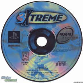 3xtreme is listed (or ranked) 17 on the list PlayStation 1 Games