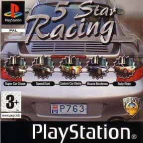 5 Star Racing is listed (or ranked) 21 on the list PlayStation 1 Games