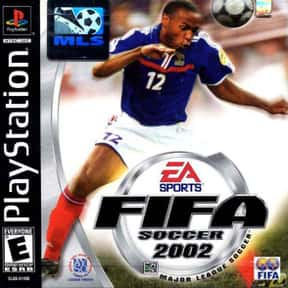 Fifa 2002 is listed (or ranked) 21 on the list The Best PlayStation 2 Soccer Games