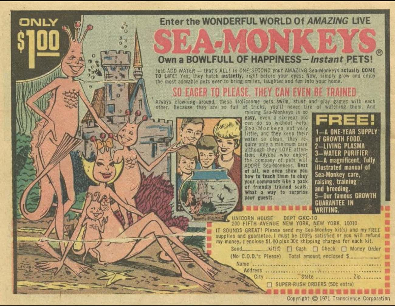 Sea Monkeys is listed (or ranked) 1 on the list The Best Vintage Ads in Comic Books