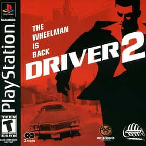 Driver & Driver 2  is listed (or ranked) 1 on the list PlayStation 1 Games