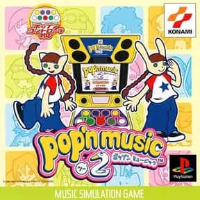 Pop'n Music 2 is listed (or ranked) 4 on the list PlayStation 1 Games