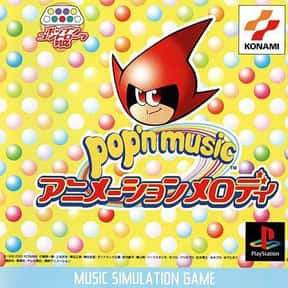 Pop'n Music: Animation Melody is listed (or ranked) 5 on the list PlayStation 1 Games