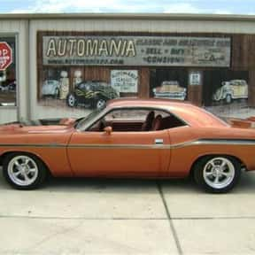 1970 Dodge Challenger RT is listed (or ranked) 1 on the list The Best Dodges of All Time