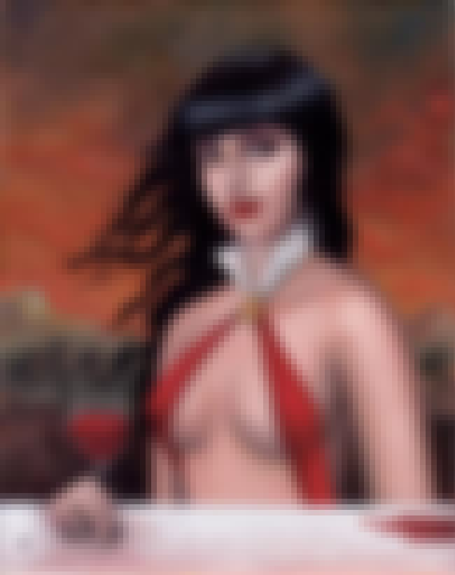Vampirella is listed (or ranked) 3 on the list The 20 Hottest Comic Book Babes