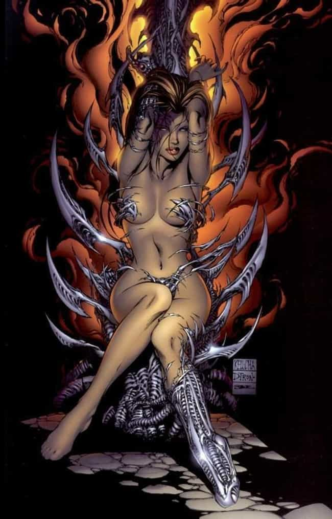 Witchblade is listed (or ranked) 2 on the list The Sexiest Babes from Indie Comics