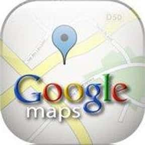 Google Maps/Navigation is listed (or ranked) 3 on the list Essential Software/Apps We Can't Live Without