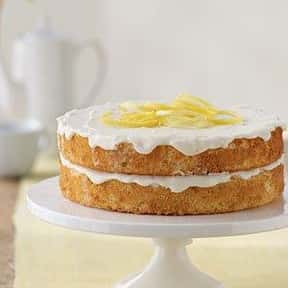 Lemon Cake is listed (or ranked) 9 on the list Every Single Type of Cake, Ranked by Deliciousness