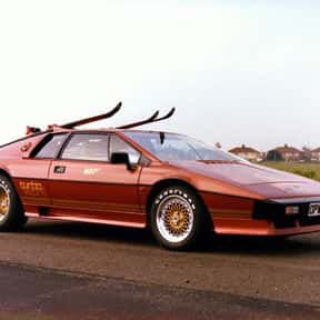 Lotus Esprit Turbo is listed (or ranked) 15 on the list All James Bond Cars
