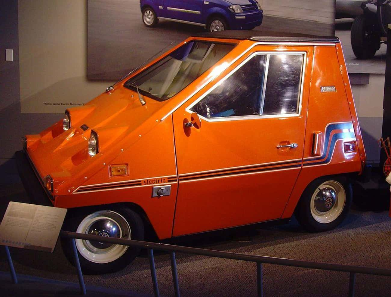 Sebring-Vanguard CitiCar is listed (or ranked) 3 on the list The Ugliest Cars In The World