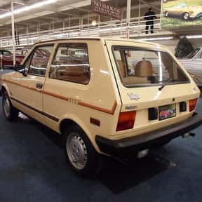 Yugo is listed (or ranked) 1 on the list The Worst Cars Ever Made
