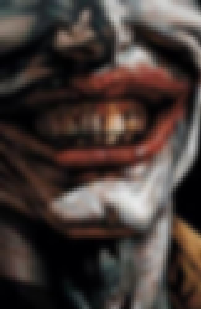 Joker is listed (or ranked) 3 on the list The 26 Most Stunning Pieces of Art in Comics