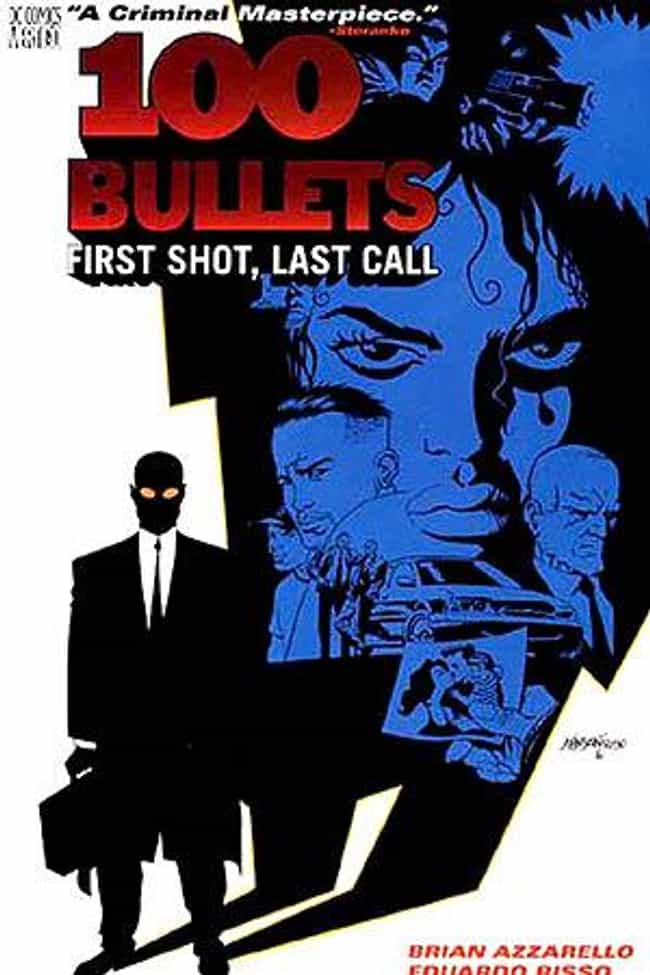 100 Bullets is listed (or ranked) 3 on the list The Best Crime Comics to Ever Hit the Shelves