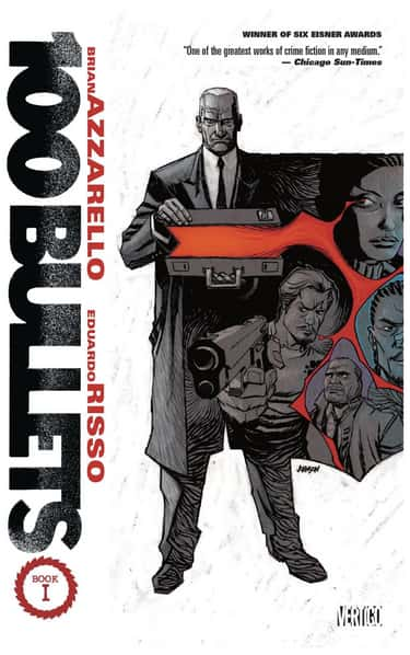 100 Bullets is listed (or ranked) 2 on the list The Best Crime Comics to Ever Hit the Shelves