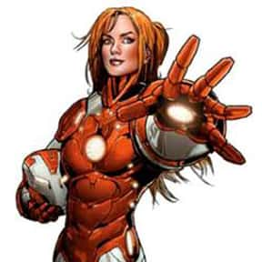 Pepper Potts is listed (or ranked) 16 on the list The Coolest Comic Characters That Aren't Superheroes
