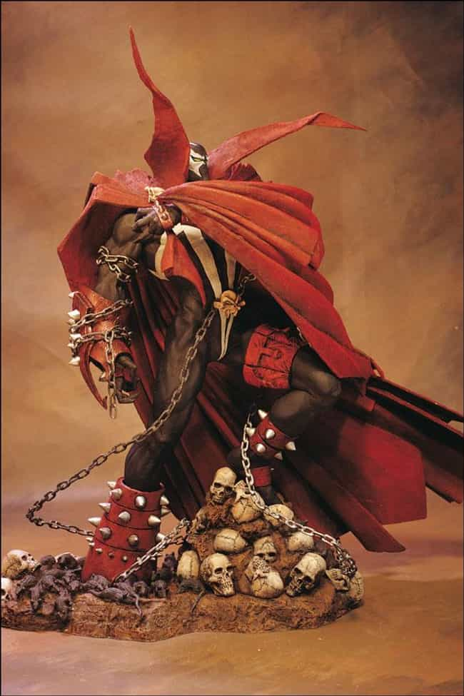 spawn is listed (or ranked) 1 on the list The Best Spawn Action Figures Ever Sculpted