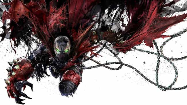 spawn is listed (or ranked) 3 on the list The Best Superhero Capes & Cloaks in Comics