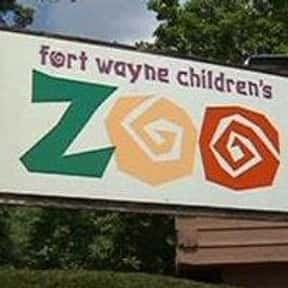 Fort Wayne Children's Zoo is listed (or ranked) 15 on the list The Best Zoos in the United States