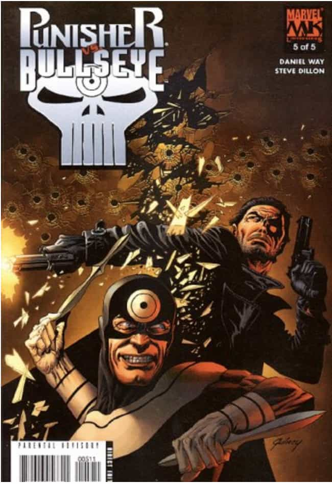 BULLSEYE is listed (or ranked) 2 on the list The Best Hawkeye Villains, Foes and Enemies