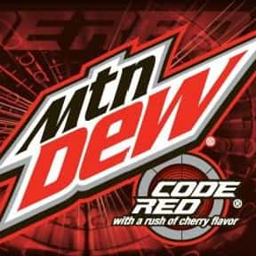 Mountain Dew Code Red is listed (or ranked) 7 on the list The Best Tasting Cherry Flavored Things
