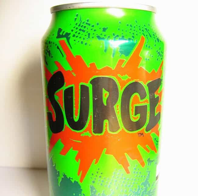 Surge is listed (or ranked) 4 on the list The Most Disgusting Food All '90s Kids Ate