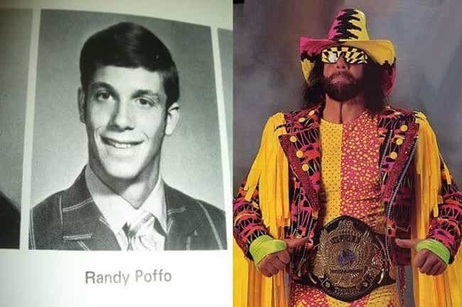 Randy Savage is listed (or ranked) 1 on the list Hilarious Yearbook Photos of WWE Superstars