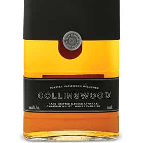 Collingwood is listed (or ranked) 11 on the list The Best Canadian Whisky