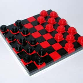 Checkers is listed (or ranked) 16 on the list The Best Board Games of All Time