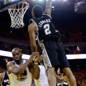 Kawhi Leanord is listed (or ranked) 16 on the list The Best NBA Players of 2013