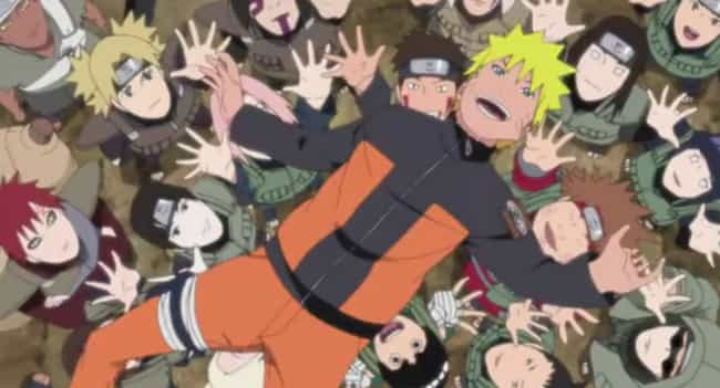 Naruto is listed (or ranked) 4 on the list The Best Anime Like My Hero Academia