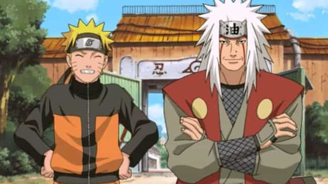 Naruto is listed (or ranked) 2 on the list 14 Awesome Anime That Feature Important Time Skips