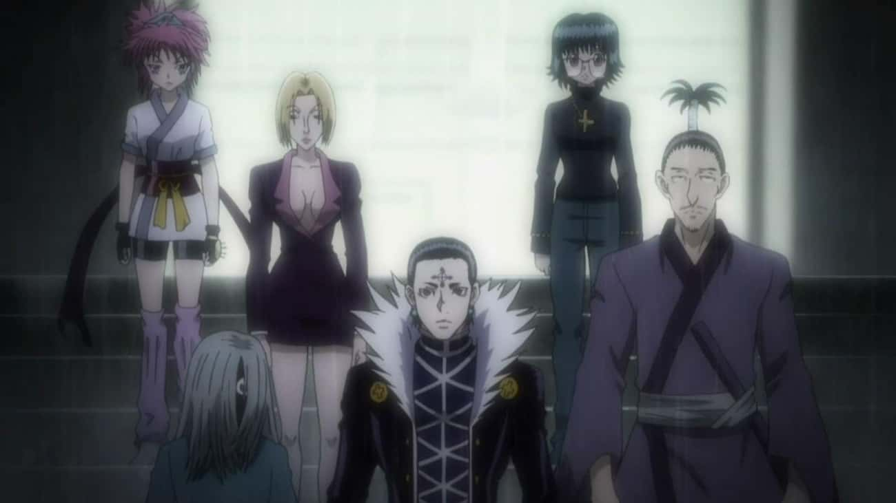 The Phantom Troupe & The Chime is listed (or ranked) 2 on the list Which Anime Has The Best Group of Villains?