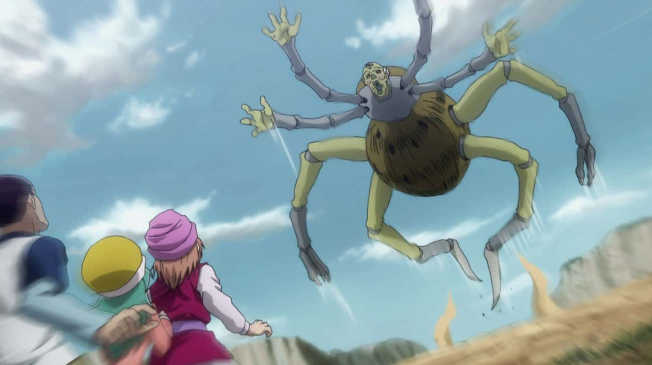 NGL - 'Hunter X Hunter' is listed (or ranked) 3 on the list The 20 Most Dangerous Locations in Anime History