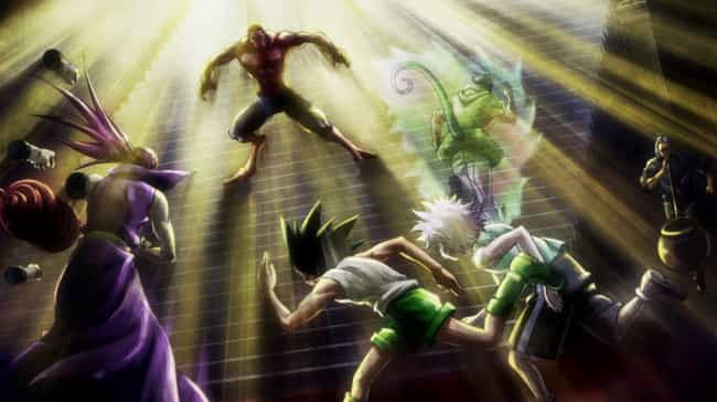 Hunter X Hunter is listed (or ranked) 1 on the list These Are The Best Arcs From Your Favorite Shounen Anime