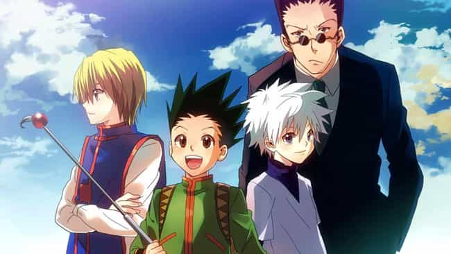 Hunter X Hunter is listed (or ranked) 3 on the list The Best Anime Like One Piece