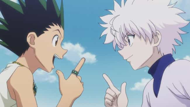 Hunter X Hunter is listed (or ranked) 3 on the list The Best Anime Like Dragon Ball Z