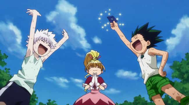 Hunter X Hunter is listed (or ranked) 4 on the list The 15 Best Action Anime OVAs of All Time