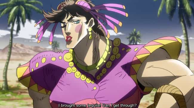 Jojo's Bizarre Adventure is listed (or ranked) 4 on the list 13 Prestigious, Genre-Defying Anime Masterpieces
