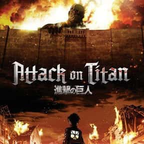 Attack on Titan is listed (or ranked) 4 on the list The Most Popular Anime Right Now