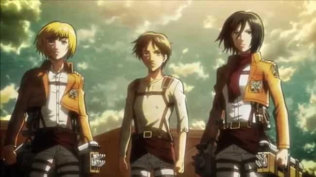 Attack on Titan is listed (or ranked) 4 on the list 14 Anime You Either Love Or Hate