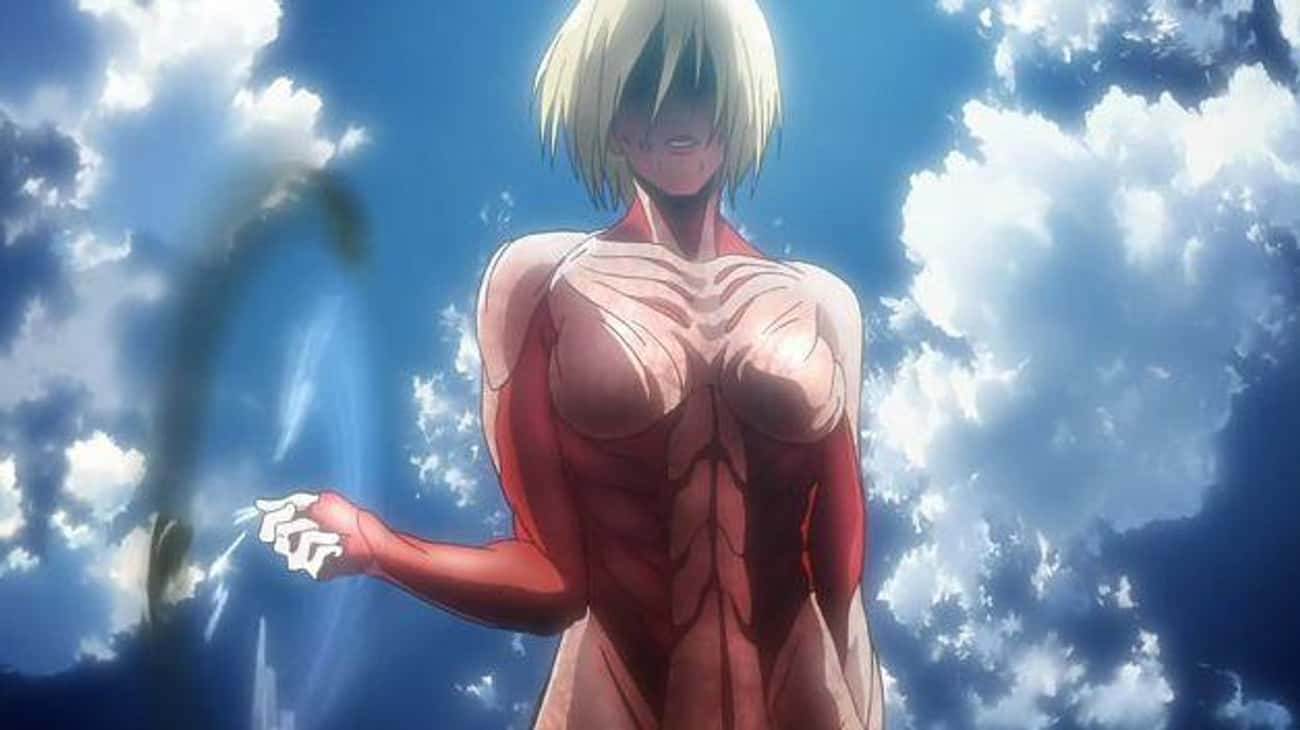 The Female Titan Arc - Attack  is listed (or ranked) 4 on the list The 10 Most Overrated Story Arcs In Anime History