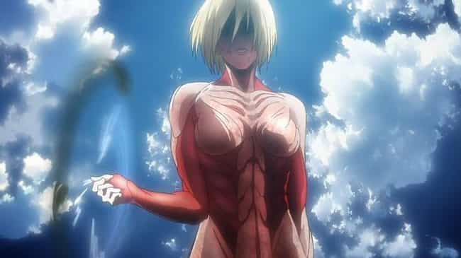 Attack on Titan is listed (or ranked) 4 on the list The 10 Most Overrated Story Arcs In Anime History