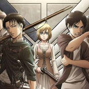 Attack on Titan is listed (or ranked) 9 on the list The Best Anime To Watch While Working Out